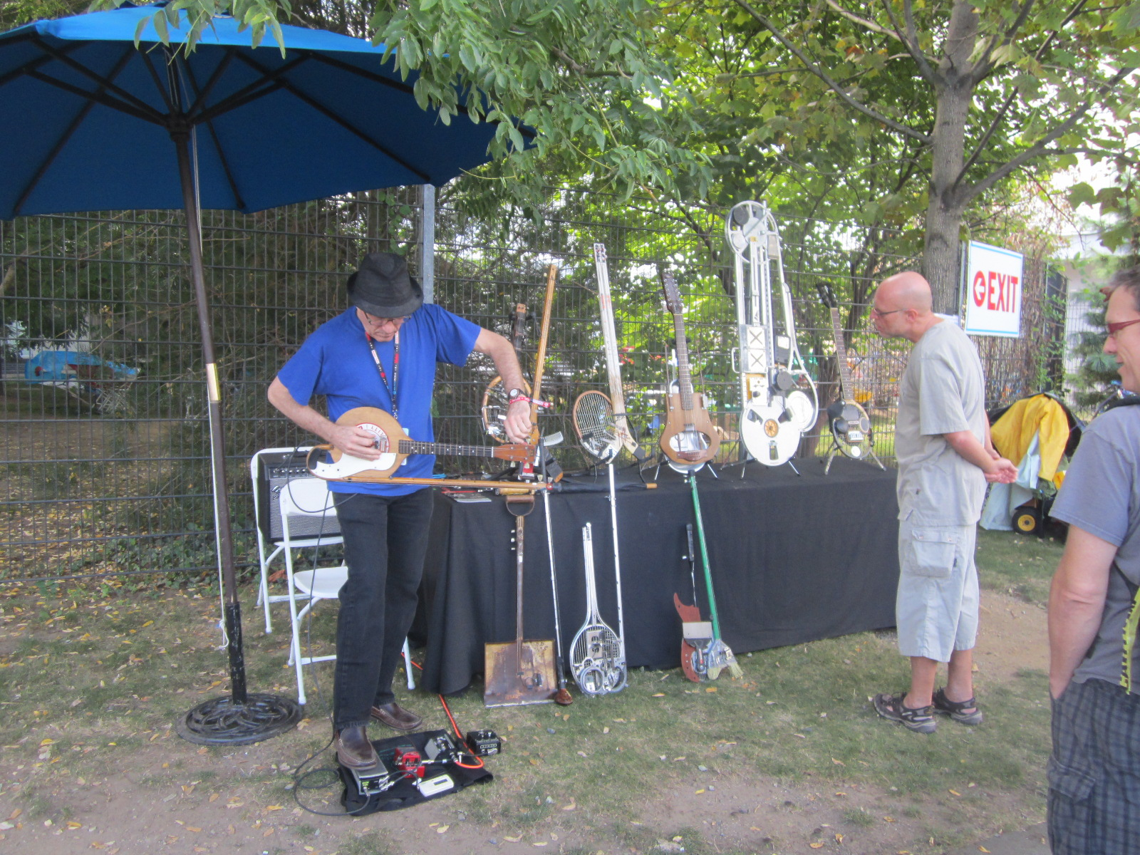 Ken Butler's Hybrid Instruments, Maker Faire NYC 2013