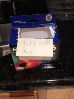 Dominic's Plastic Cap Box