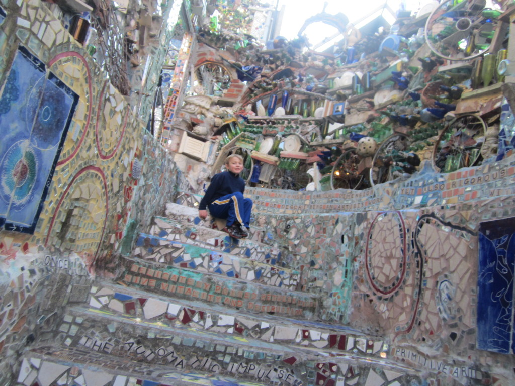 Russell at the Magic Gardens
