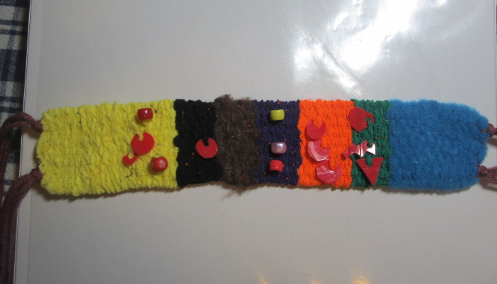 My First Weaving a Life Amulet