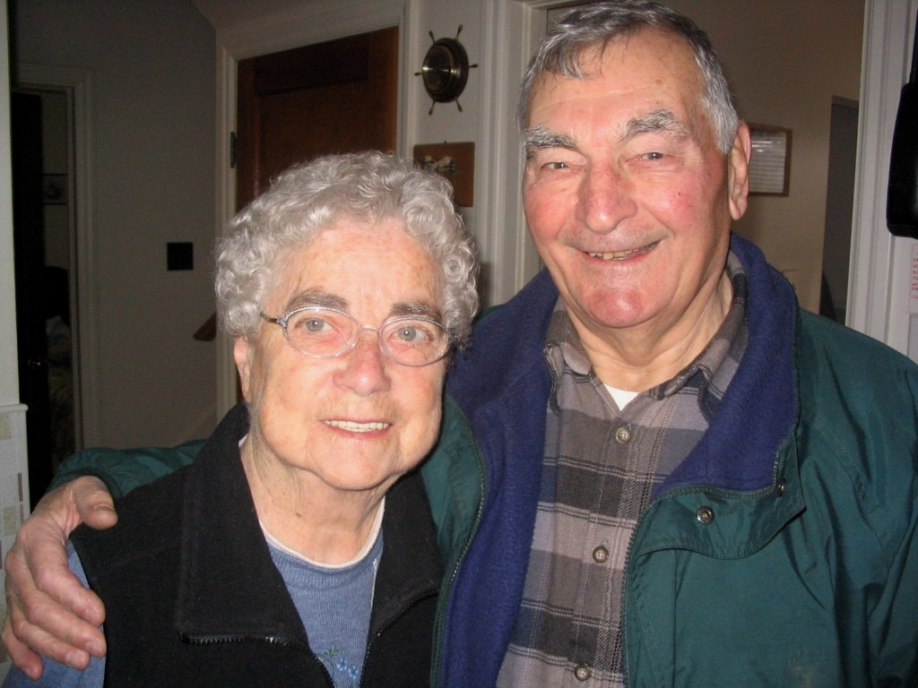 My grandparents, Shirley and Fred Brown