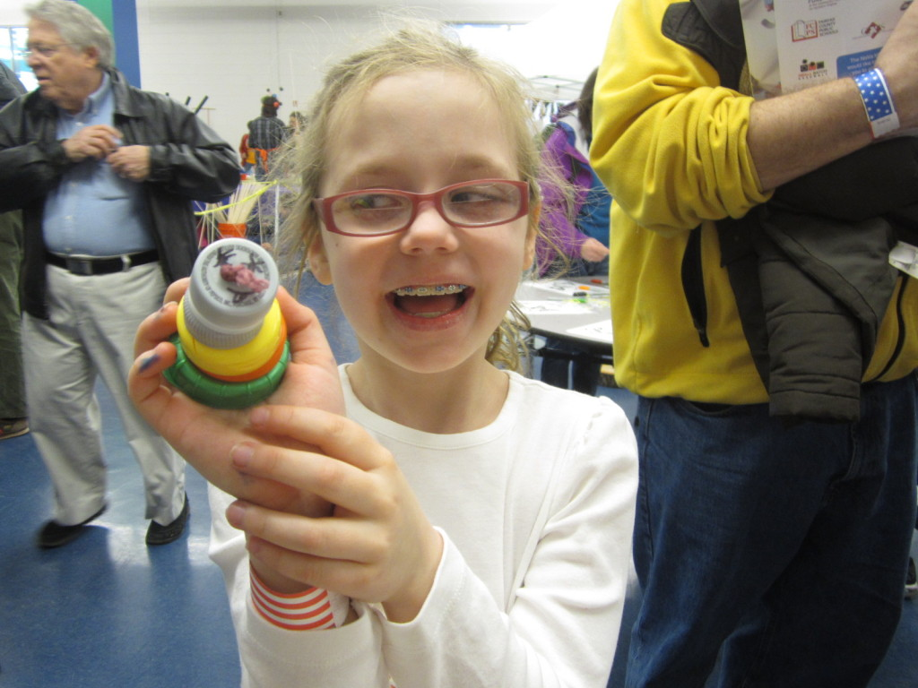 Happy cap-erpillar maker