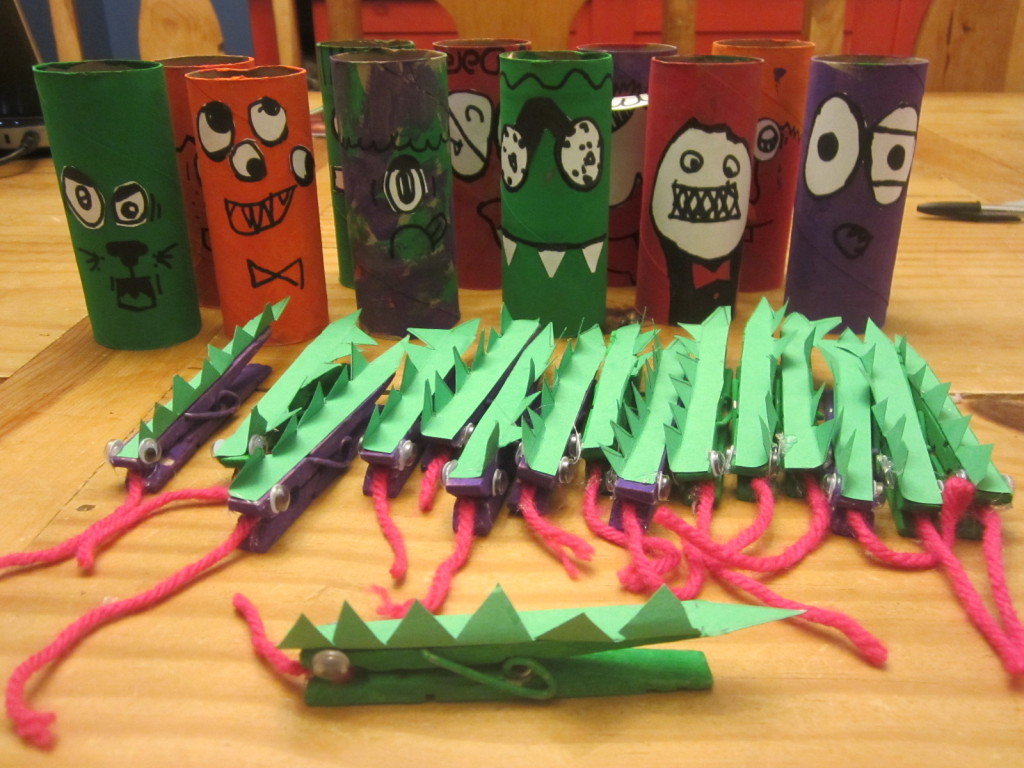 Russell's recycled crafts