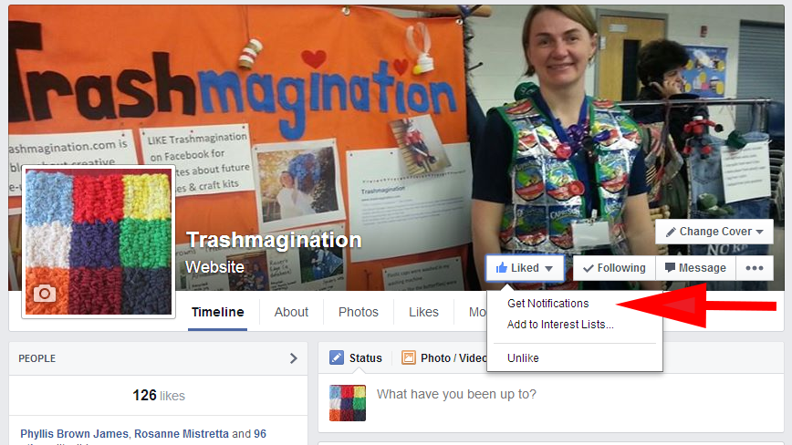 How to Change Your Settings in Facebook to Get Notifications from a Page