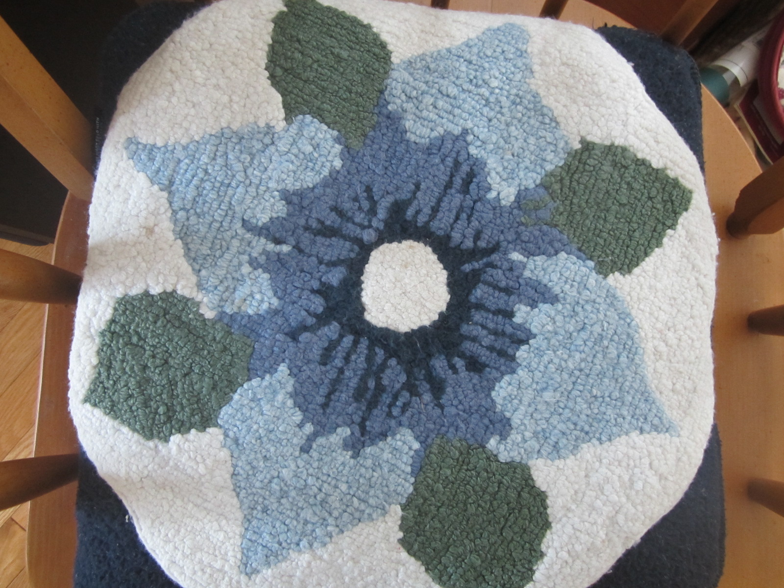 Our First Hooked Rug