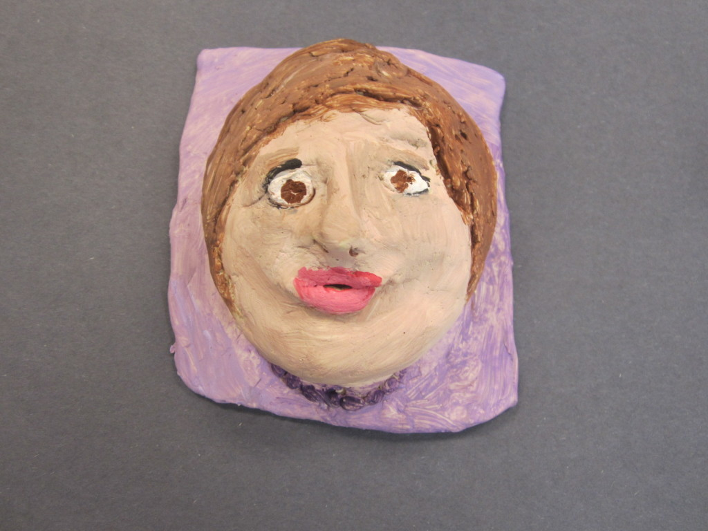 Nora's Sculpture from GRACE Art Summer Camp