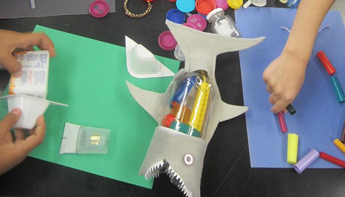 Testing the TrashAnatomy Shark Model