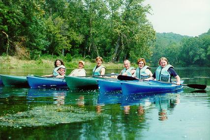 Team Day - Kayaking and Horseback Riding