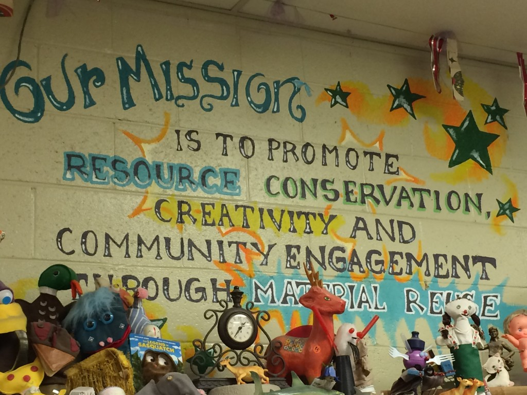 Mission of the Pittsburgh Center for Creative Reuse