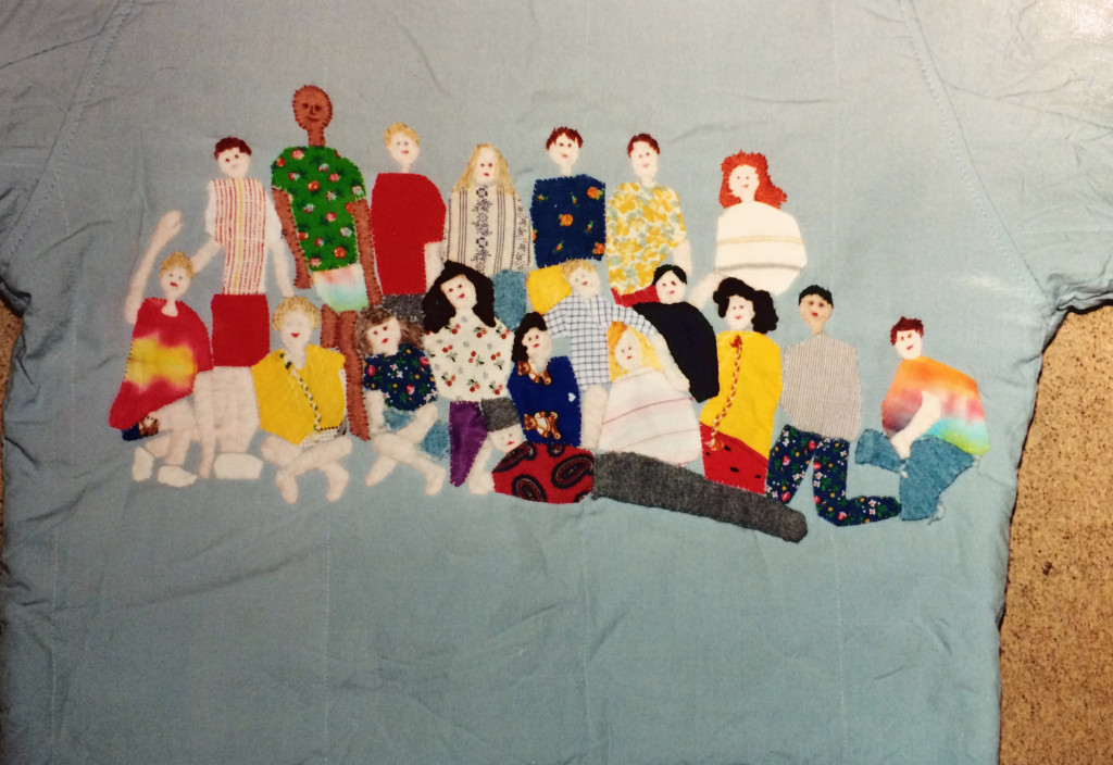 High School Friends Jacket Quilt, 1990