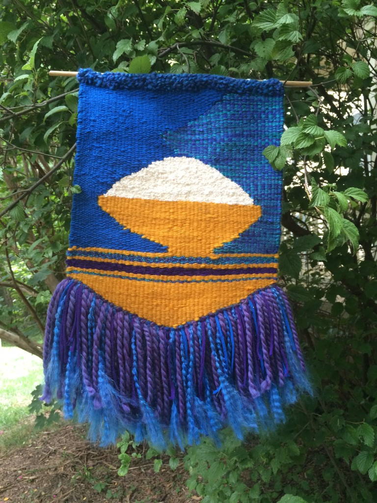 Bowl of Rice tapestry completed