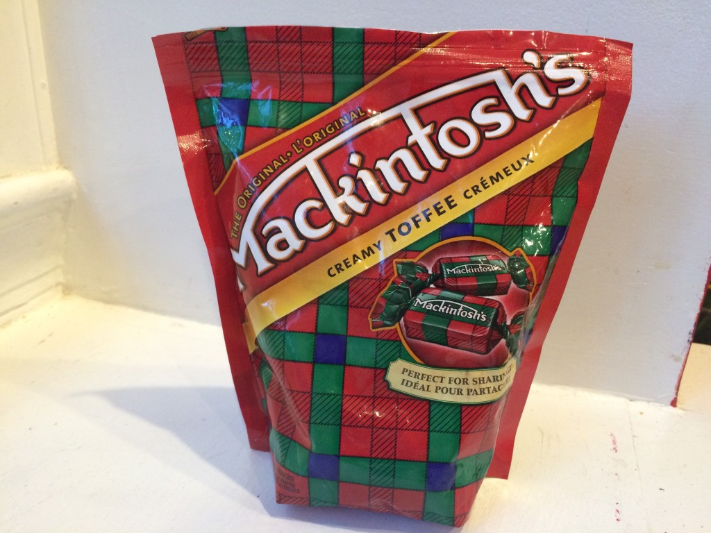 Mackintosh's Toffees - Used to make the Webelos plaid scarf