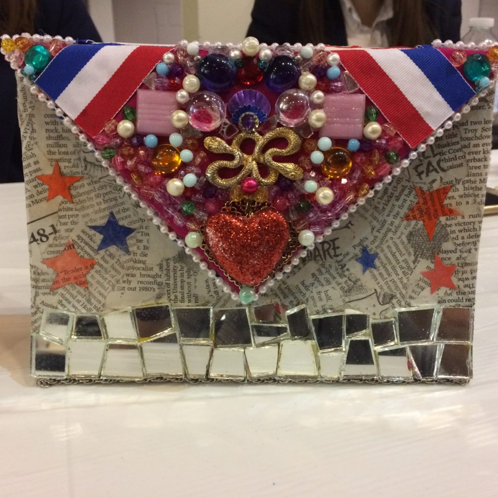 Recycled Purse by Rebecca Doyle of Redeemer Classical Christian School