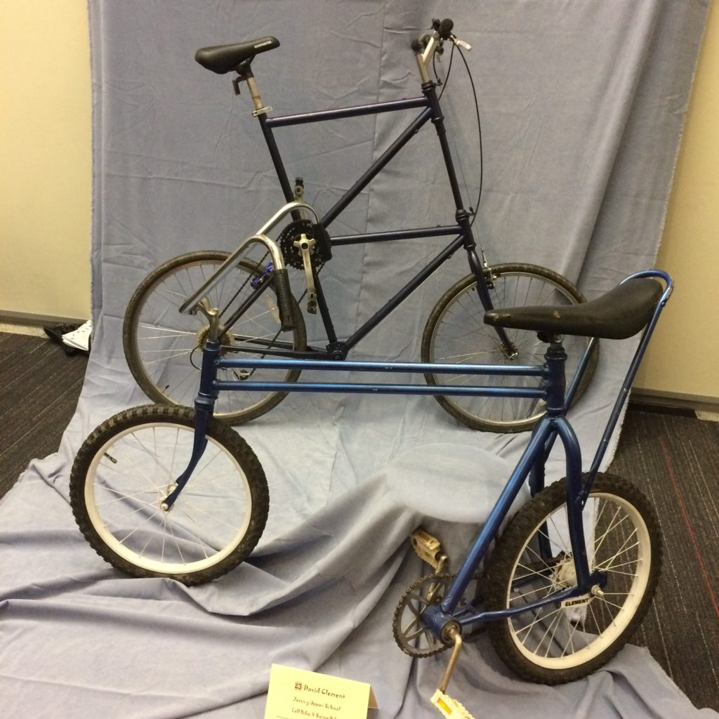 Bicycle Art by David Clement, Jemicy Upper School