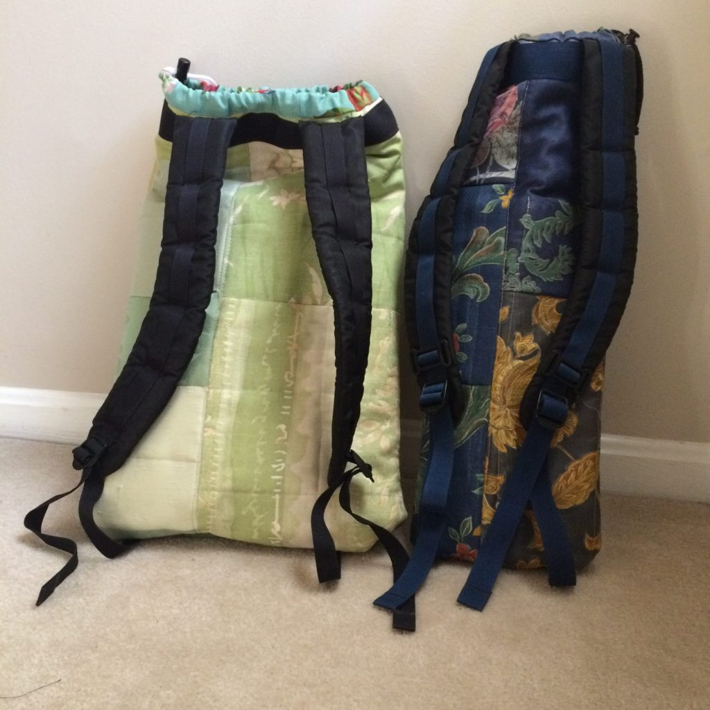 Bachi bags - recycled backpack straps