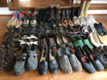 My 33 pairs of Shoes