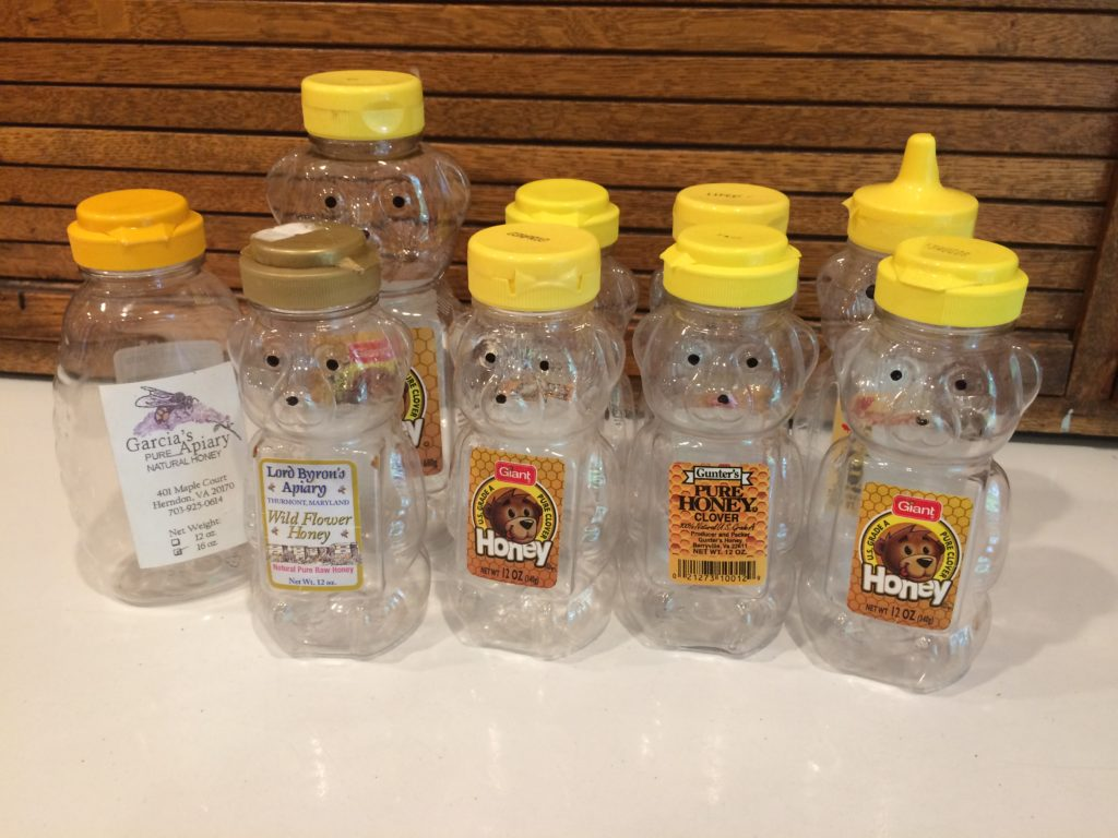 Bear Honey Bottles