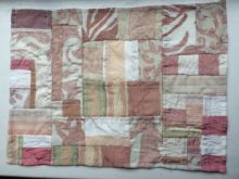 Bojagi by Carla Brown, Trashmagination - from upholstery samples