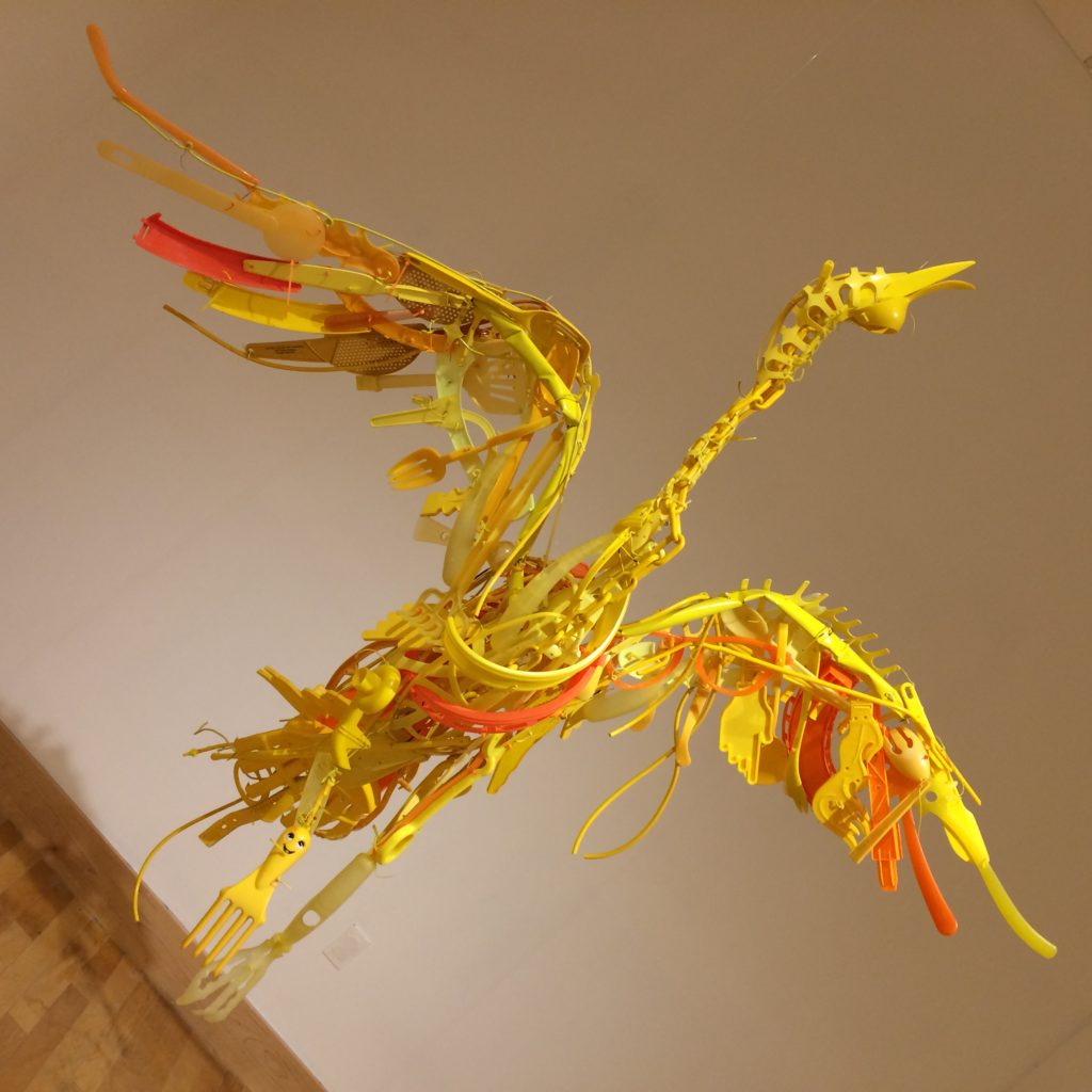 Nova - Phoenix Sculpture by Sayaka Ganz