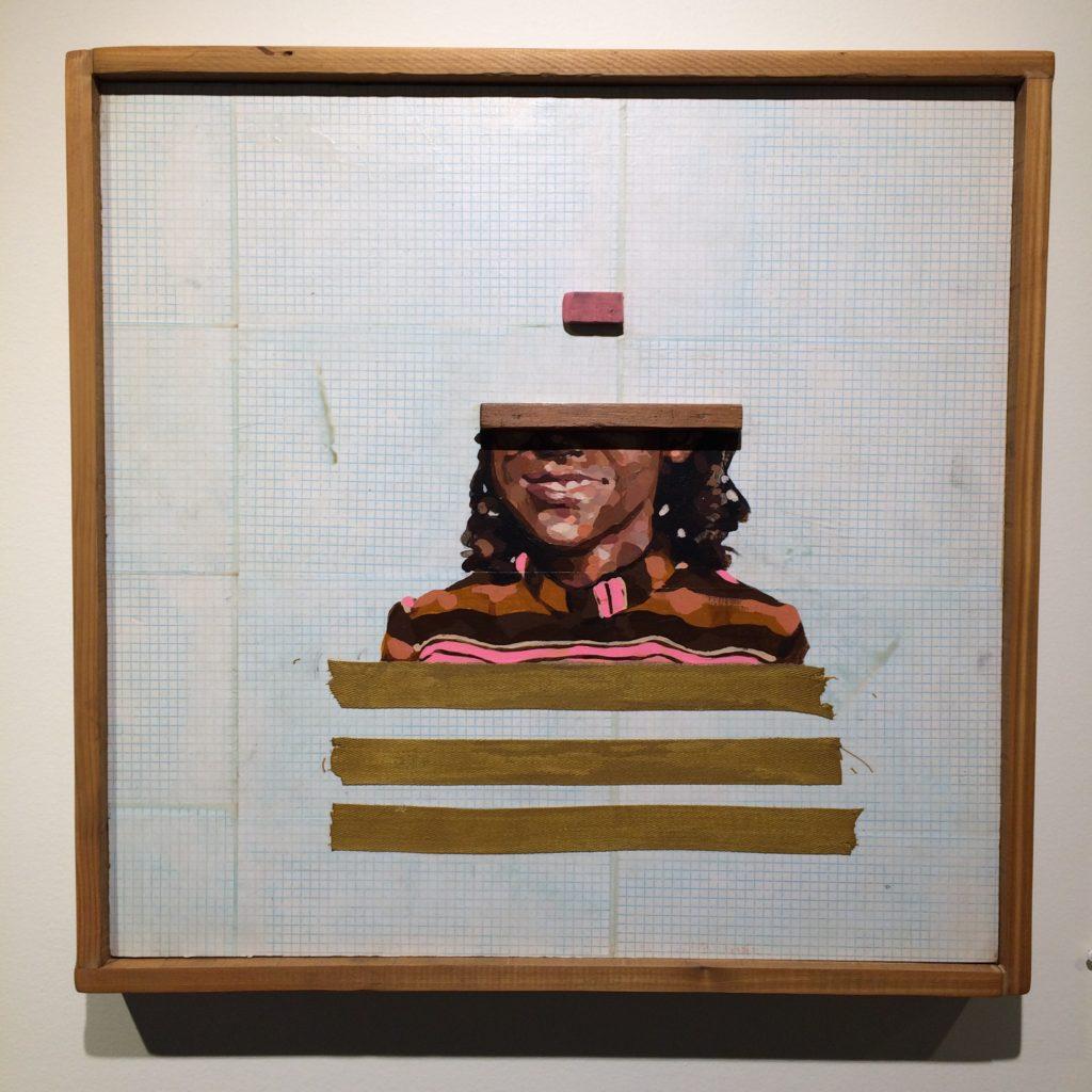 Piece by Jeremy Okai Davis, GLEAN Exhibit, August 2019