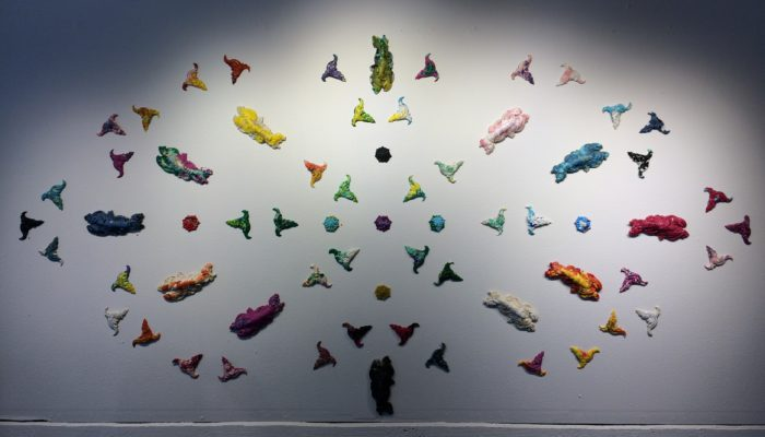 Pieces by Miel-Margarita Paredes, GLEAN Exhibit, August 2019
