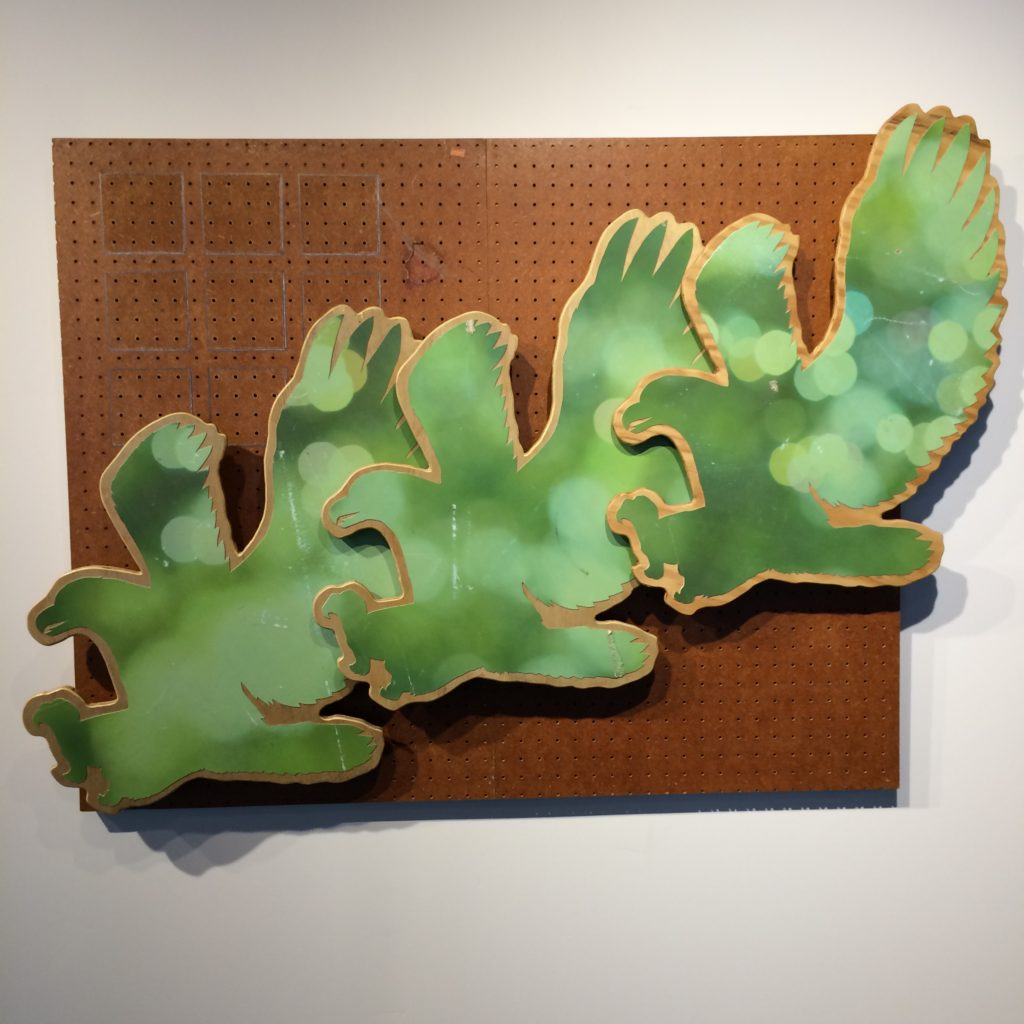 Piece by Asa Mease, GLEAN Exhibit, August 2019