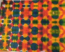 Dyed tissue paper by Gena VanValkenburgh